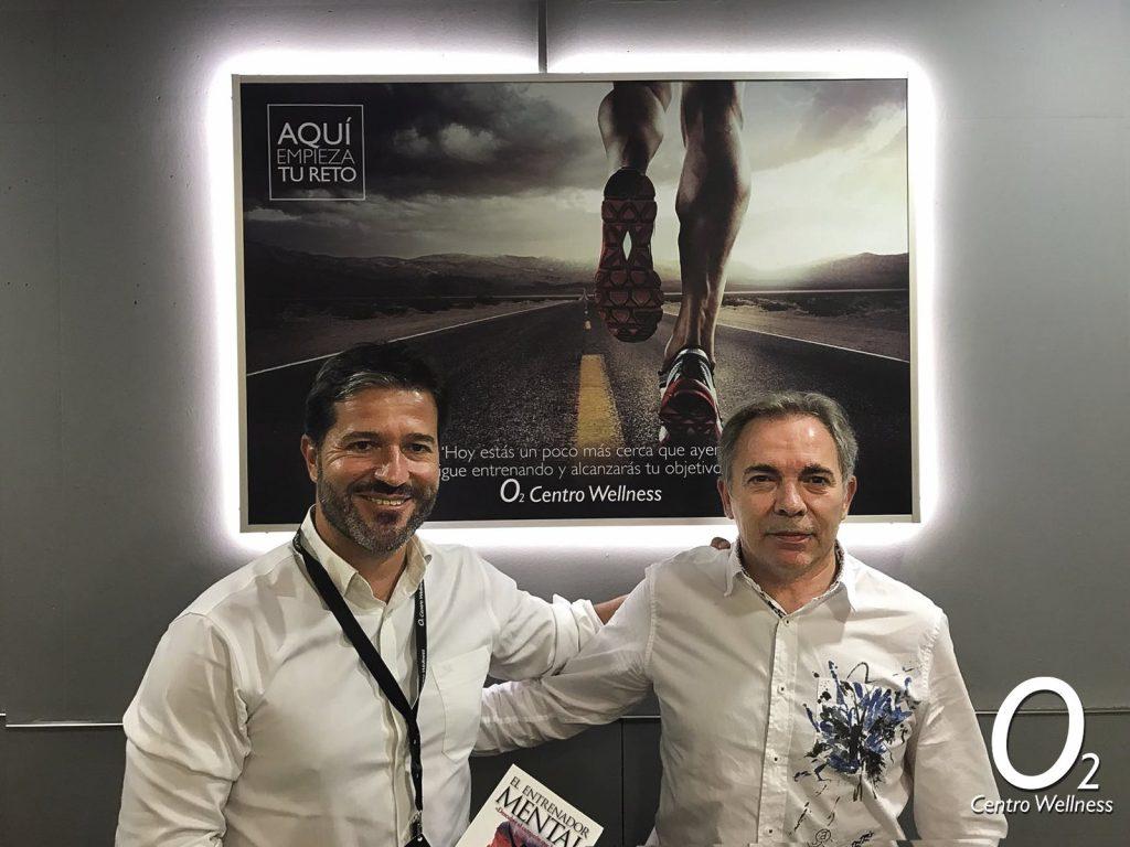 Juan Carlos Campillo y José Manuel Nuñez de O2 Centro Wellness